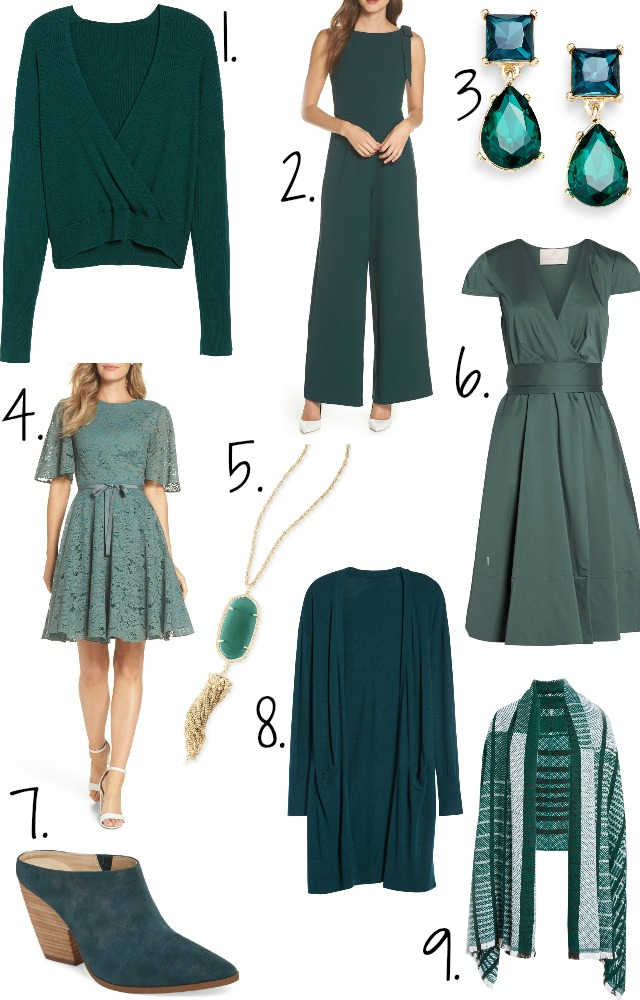 Loving Lately: Peacock Green