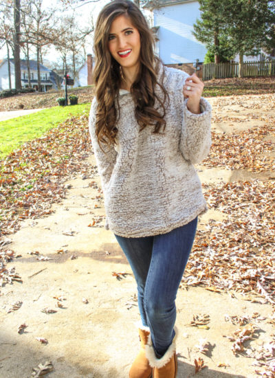 Coziest Outfit Ever – Fleece Pullover