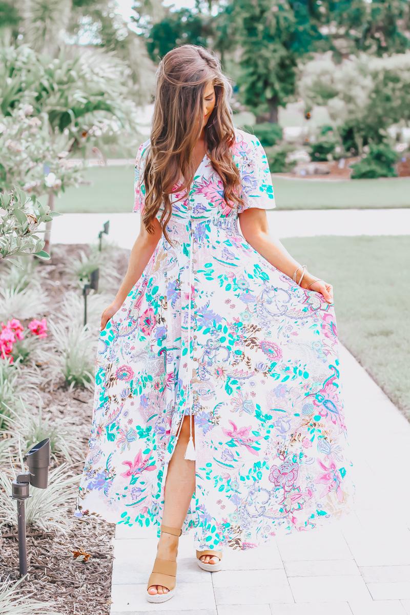3 Ways To Style A Maxi Dress