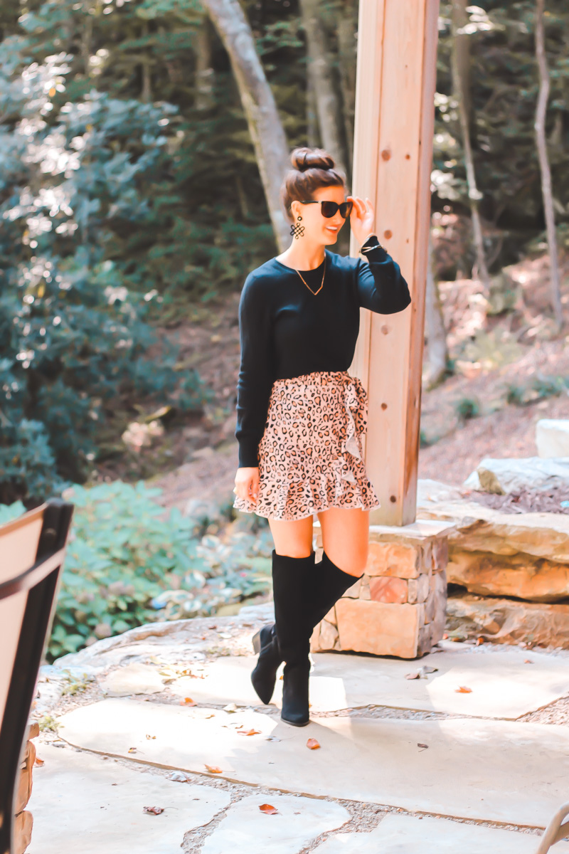 Leopard Skirt To Wear Now And Into Fall