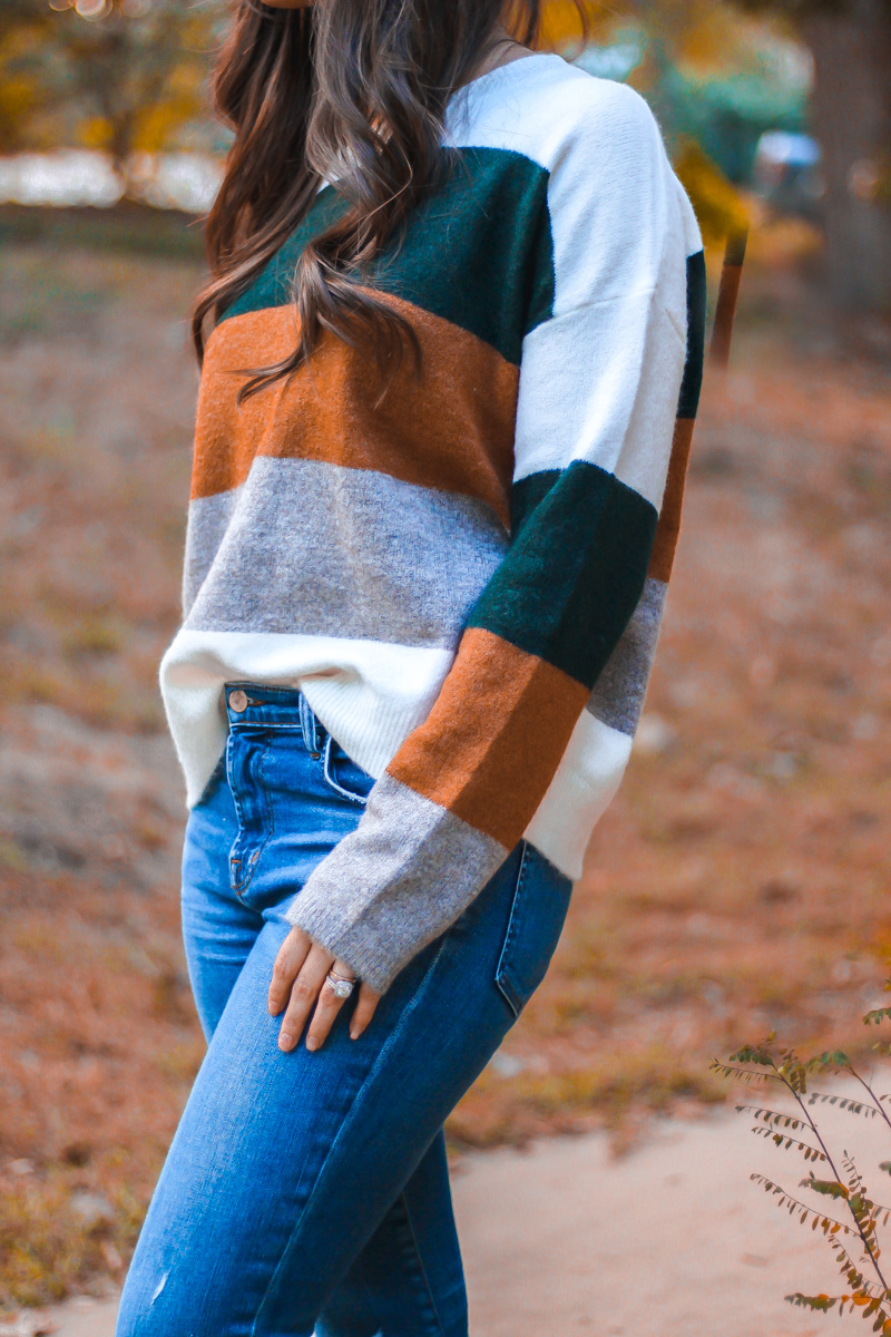 Bold Stripes For Fall Colorblock Sweaters