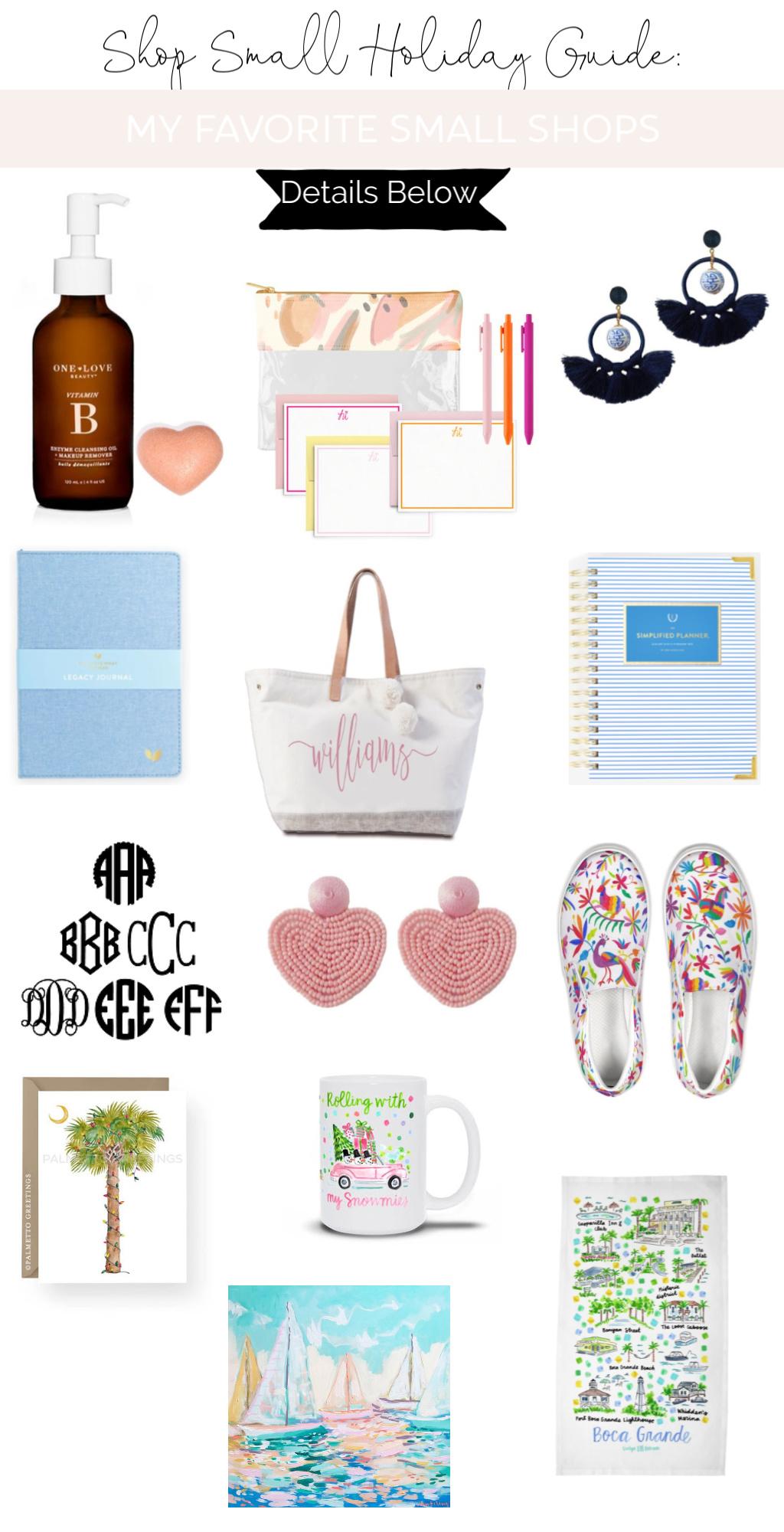 Shop Small Saturday Holiday Guide