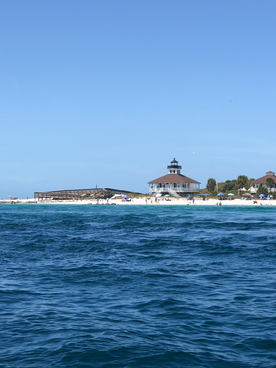 Boca Grande Pass and Lighthouse