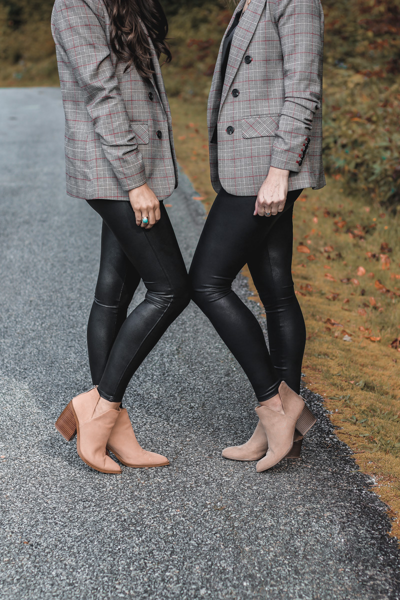 Spanx Faux Leather Legging Dupes