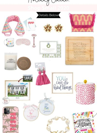 Shop Small Gift Guide 2020